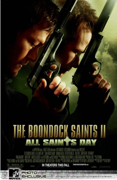 Boondocks Saints II All Saints Day movie poster